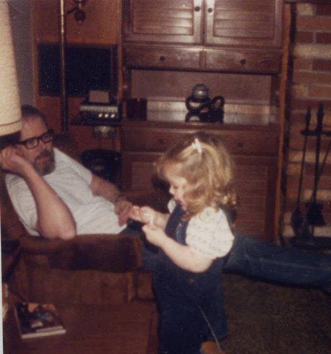 Papa and Erica 1986